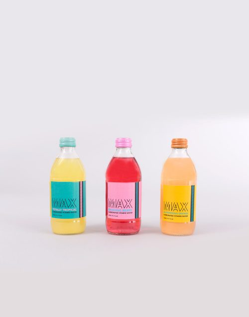 Max Vitamin Water Packaging Design