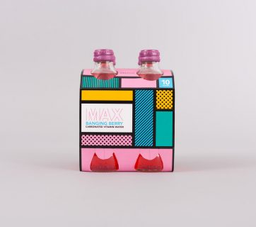 Max Vitamin Water Packaging Design