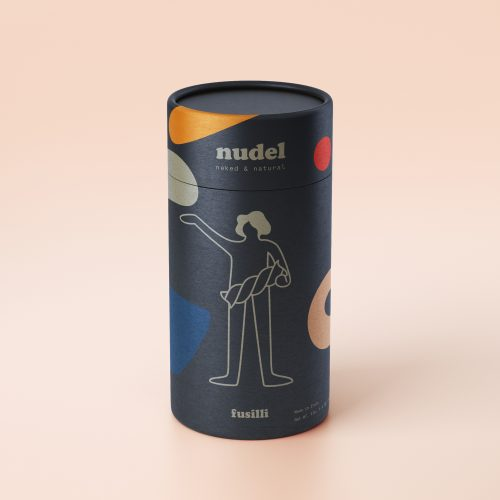 The Nudel Pasta Packaging Come Nude People