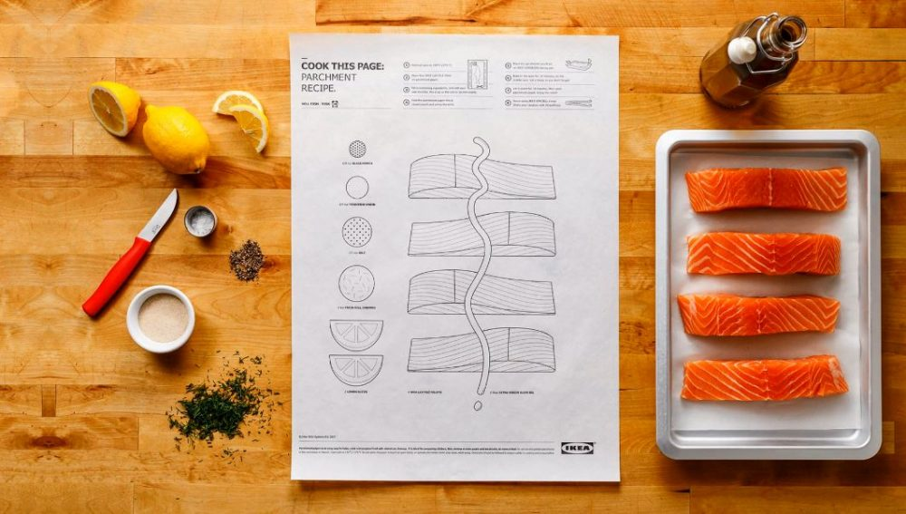 Cook This Page: IKEA Reinvents how we use recipes