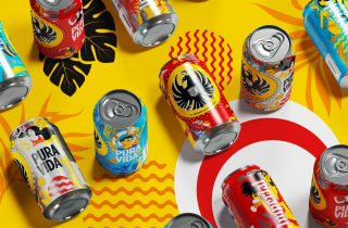 Costa Rican Beer Packaging with Summer Vibes