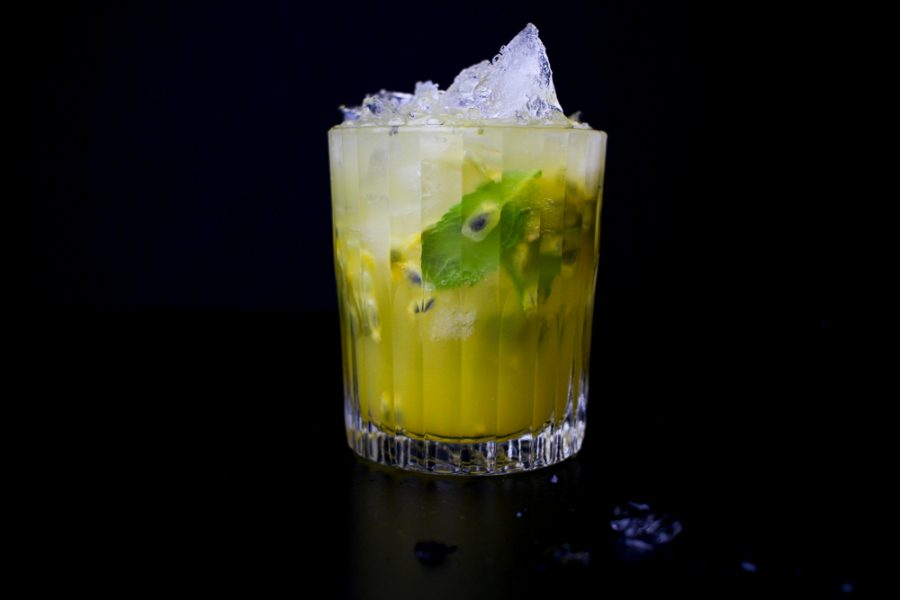Try This Passion Fruit Smash Cocktail