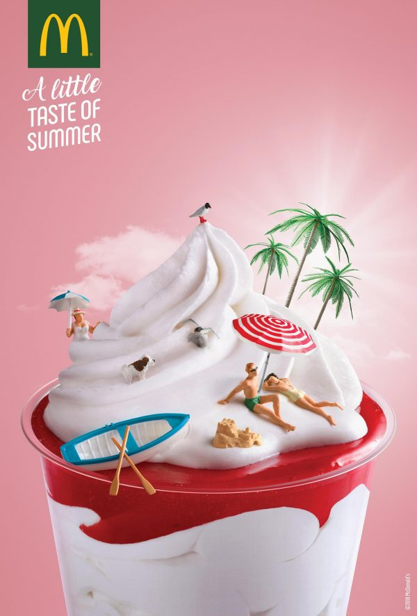 Don't Miss McDonald's Artsy Summer Print Ads