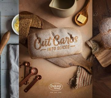 Dukes Bread Ads Takes Swing at Gluten Free Movement