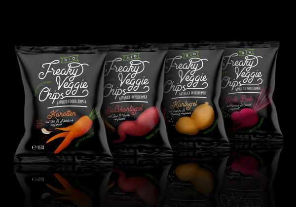 Food Packaging Designs with Great Typography
