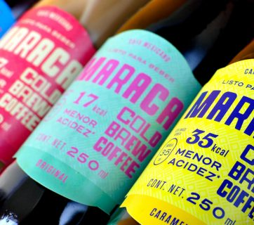 Maraca Cold Brew Coffee Packaging Design