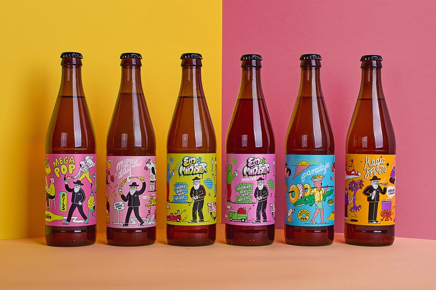 Minister Brewery Beer Packaging Design