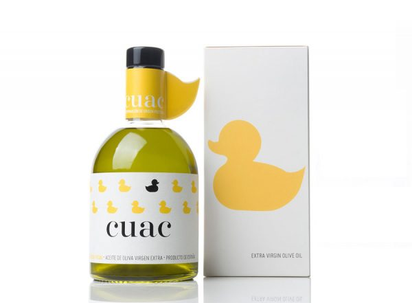 Duck Themed Olive Oil Packaging Design