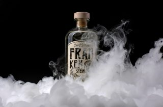 Frankenstein Gin & Bitter Packaging Design