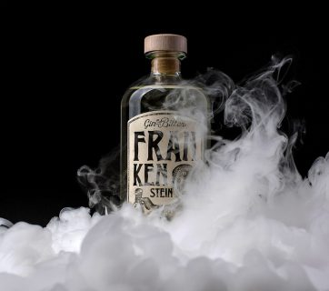 Frankenstein Gin & Bitter Packaging Design