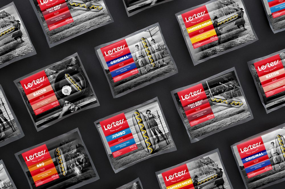 Lesters Hot Dog Packaging Design Stands Out