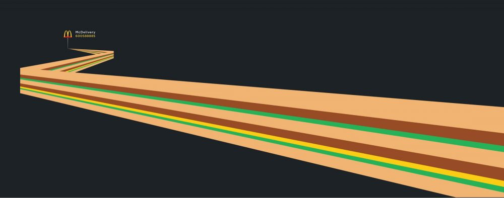 Clever Stretched Ads for McDonald's Shows How Iconic McDonald's Is