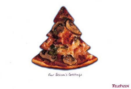 Creative Christmas Ads for Food