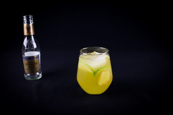 Bourbon Apple Ginger Ale Cocktail Recipe