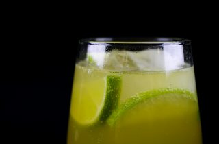 Bourbon Apple Ginger Ale Cocktail Recipe