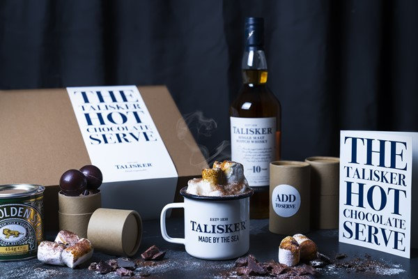 Hot Chocolate with Single Malt Whisky - Just in time for winter